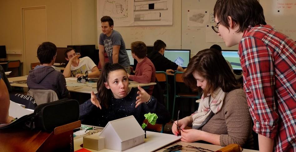 bac sti2d Lycée Yves Thépot Quimper